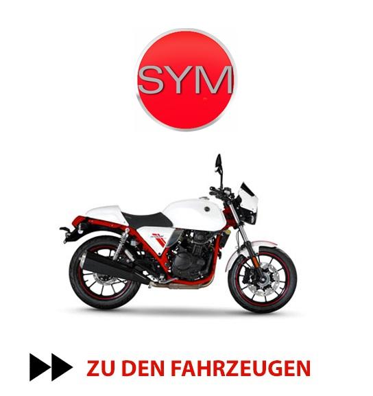 SYM Motorroller, Leichtkraftroller, Leichtkrafträder, Scooter in Frankfurt bei Holgers Zweirad-Shop